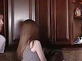 brunette mature sex, daughter, hardcore, kitchen porno, milfs, mom, stepmother