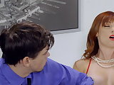oldie, american mom, big tits, family, high heels, milfs, mom, mom and son scenes
